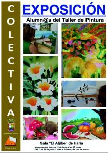 exposicion taller de pintura