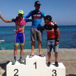 III MTB norte Lanzarote - podio masculino