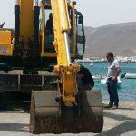 Obras en el muelle de Punta Mujeres2