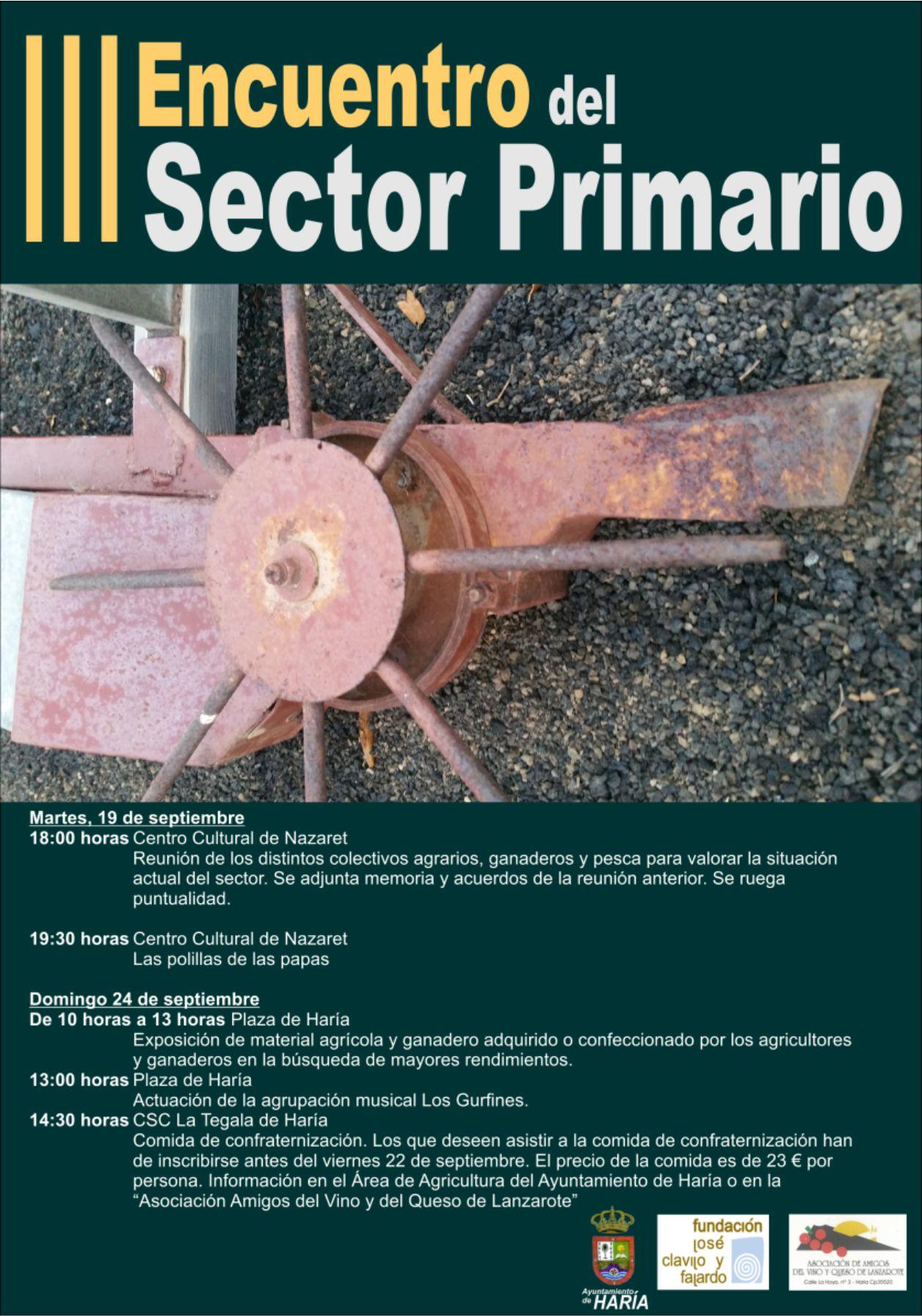 III Encuentro del Sector Primario
