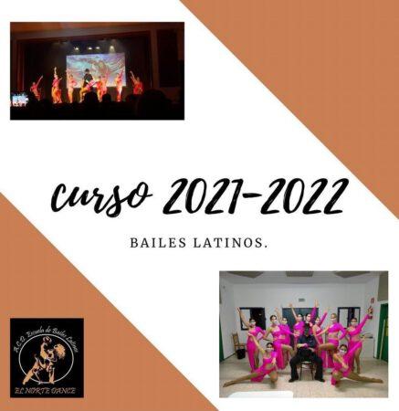 cartel bailes latinos